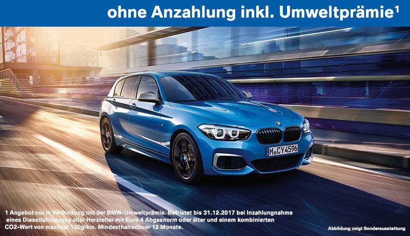 BMW 116i 5-Türer inkl. Umweltprämie<sup>1</sup>