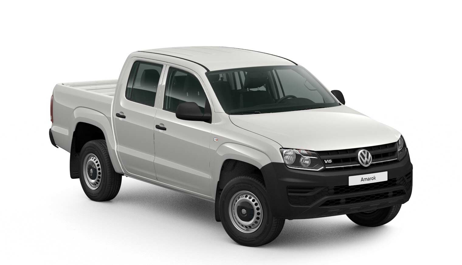 Amarok DC Trendline Motor: 3,0 l TDI EU6 SCR BlueMotion Technology 120 kW Getriebe: 4MOTION 6-Gang-Schaltgetriebe Radstand: 3095 mm