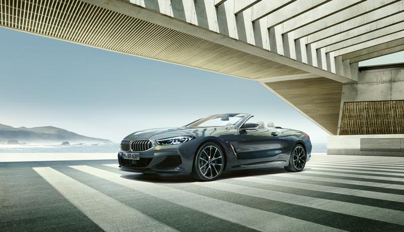 BMW 8er Cabriolet.