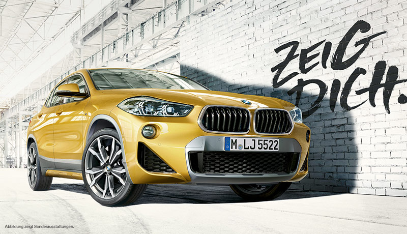 BMW X2 sDrive18i Modell Advantage