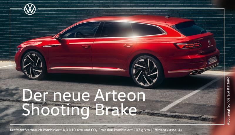 Der Arteon Shooting Brake