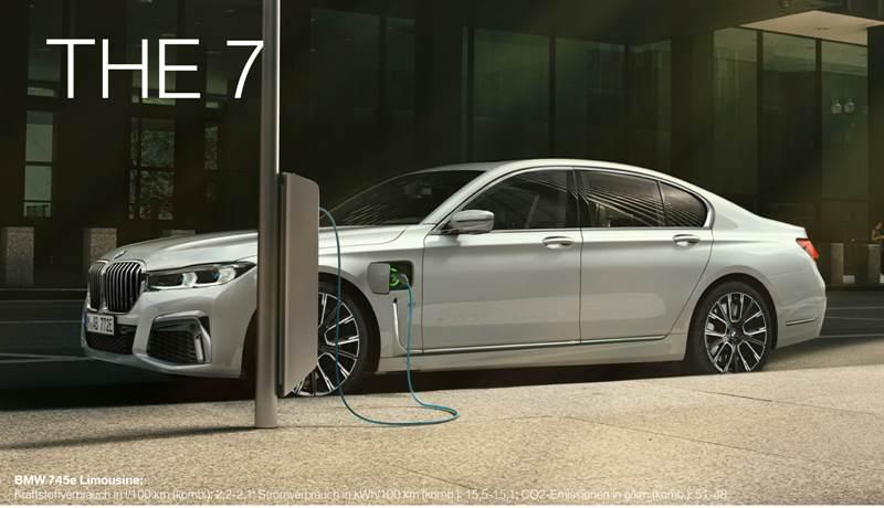 BMW 7er Limousine - Plug-in-Hybrid