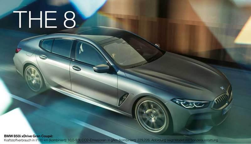 BMW 8er Gran Coupé (Aktionsmodell)