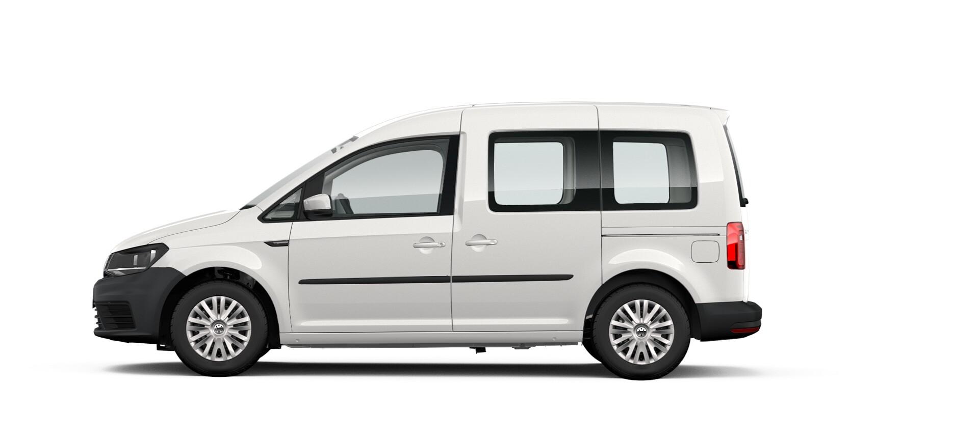 Caddy Trendline 5-Sitzer, 1,2 l TSI, EU6, BlueMotion, PlusPaket Technology, 62 kW, 5-Gang-Schaltgetriebe, Radstand: 2681 mm, mit PlusPaket