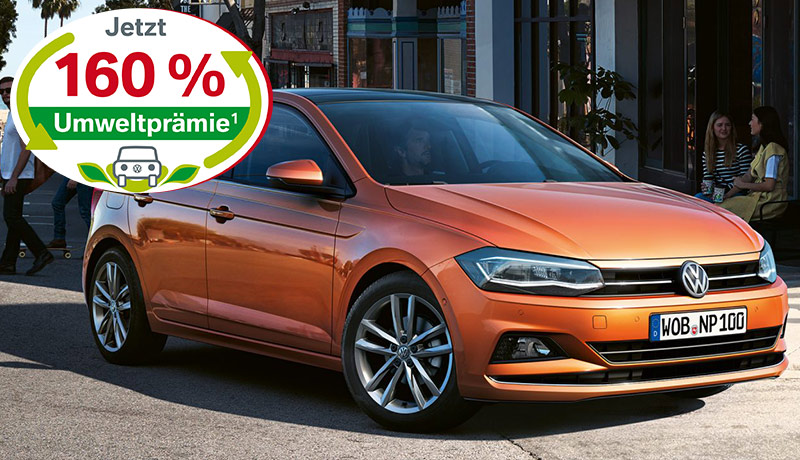 Polo Trendline 1,0 l  48 kW (65 PS) 5-Gang