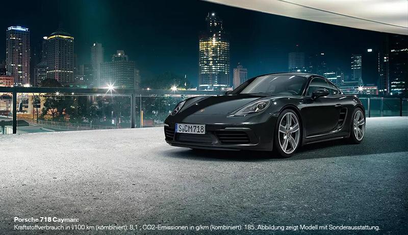 Der Porsche Cayman