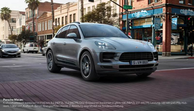 Der Porsche Macan