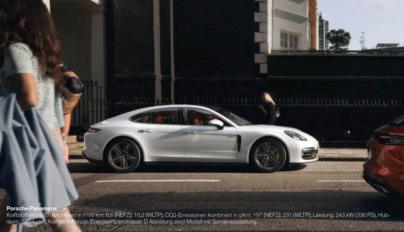 Der Porsche Panamera