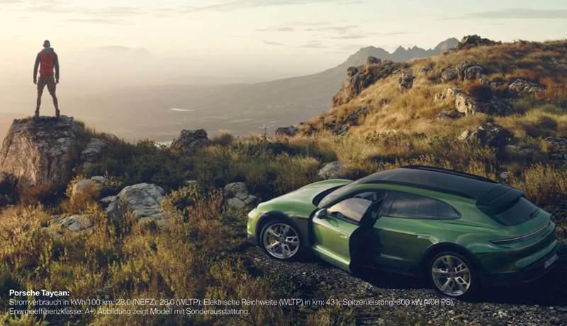 Der Porsche Taycan