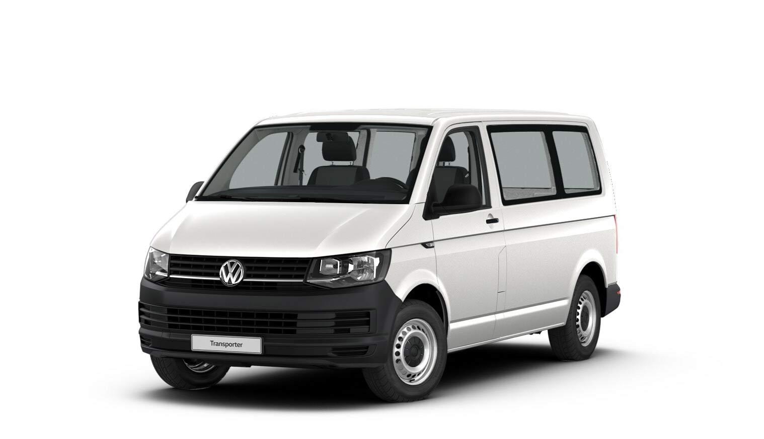 "Transporter Kombi ""EcoProfi"" Motor: 2,0 l TDI EU6 SCR BlueMotion Technology 75 kW Getriebe: 5-Gang-Schaltgetriebe Radstand: 3000 mm"
