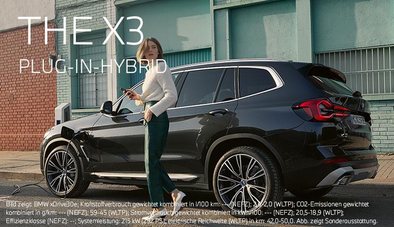 Der neue BMW X3 Plug-In-Hybrid