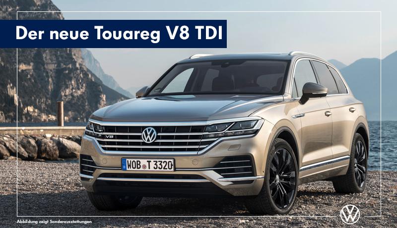 Der neue Toaureg V8 TDI