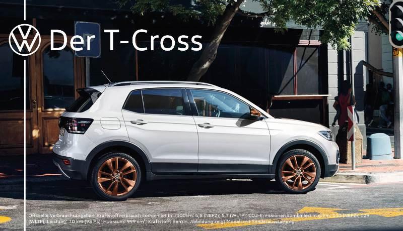T-Cross 1.0 TSI OPF 70 kW (95 PS) 5-Gang