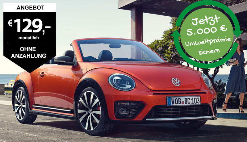 Beetle Cabriolet, 1,2 l TSI 77 kW (105 PS) 6-Gang