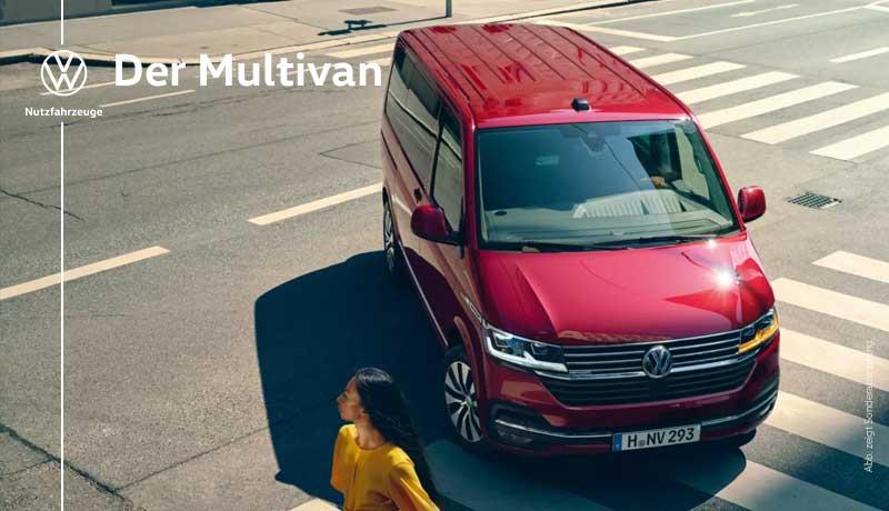 Multivan Comfortline, 2,0 l TDI EURO 6 SCR BlueMotion Technology 75 kW  5-Gang-Schaltgetriebe