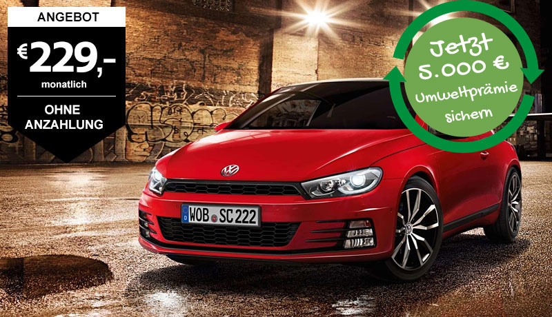Scirocco Sport, 1,4 l TSI 92 kW (125 PS) 6-Gang