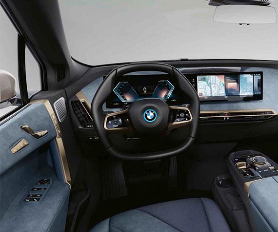 BMW iX Highlights - Mehr Raum für Lebensqualität