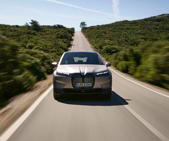 BMW iX Highlights - Reichweite<