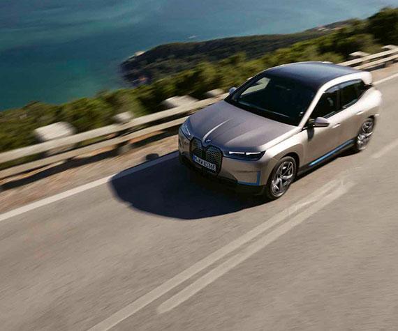 BMW iX Highlights - Elektrische Fahrfreude