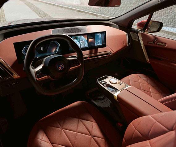 BMW iX Highlights - Intuitives Fahrerlebnis