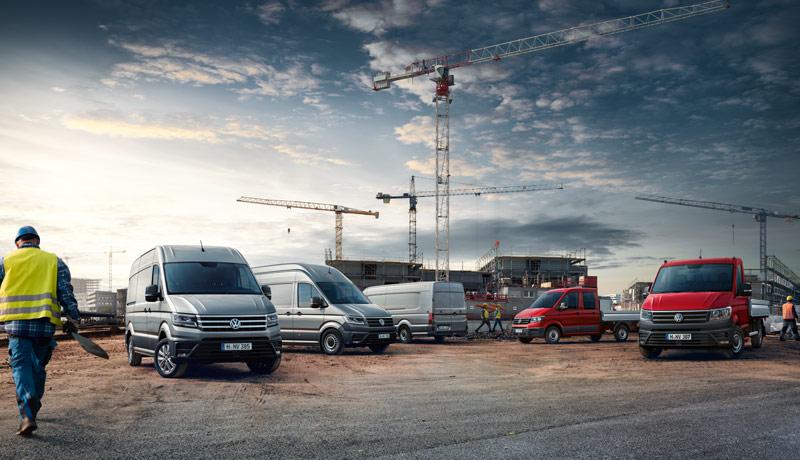VW Nutzfahrzeuge Angebote für Gewerbekunden