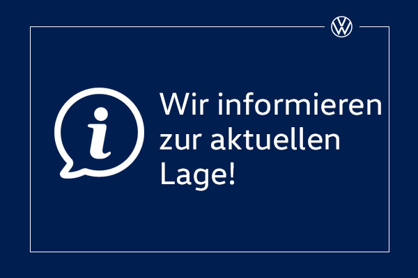 VW Informationen zur Corona Situation