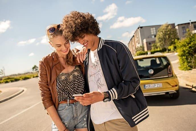 Volkswagen Connect®-App