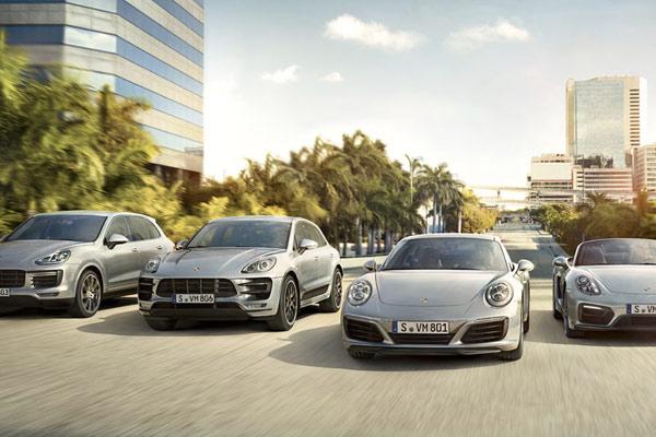 Porsche Großkunden