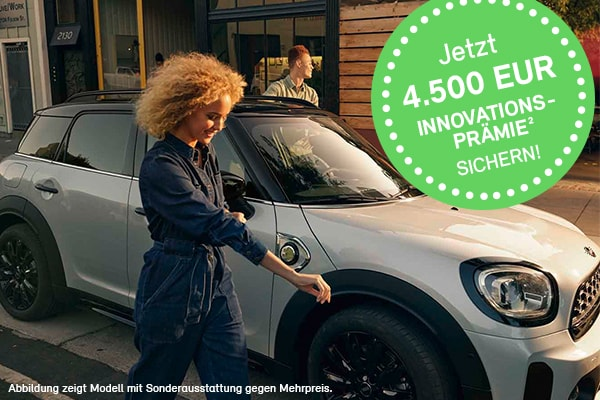 MINI Countryman S E, Innovationsprämie sichern!