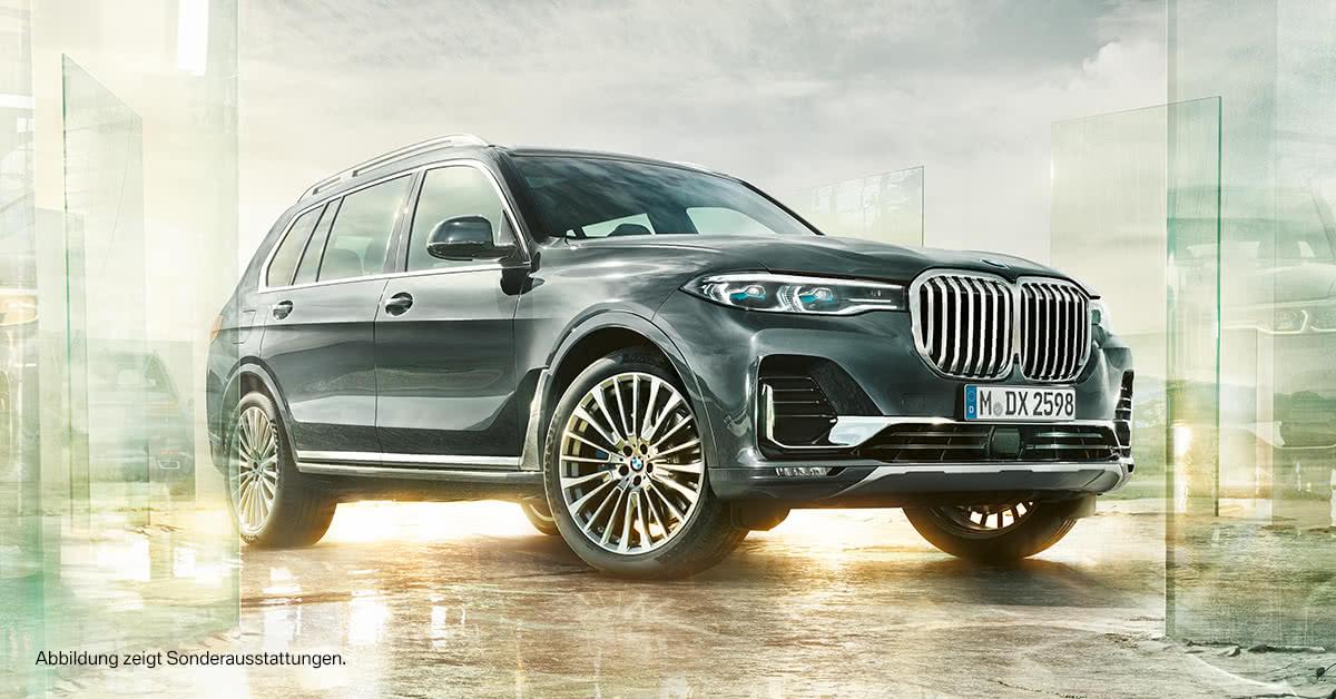 BMW X7. DAS MAXIMUM AN FREIRAUM.