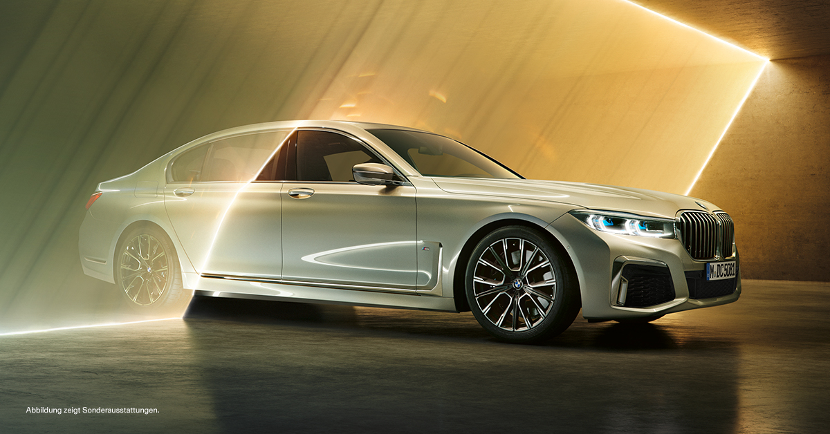 BMW 7er. DER ANSPRUCH VON MORGEN.