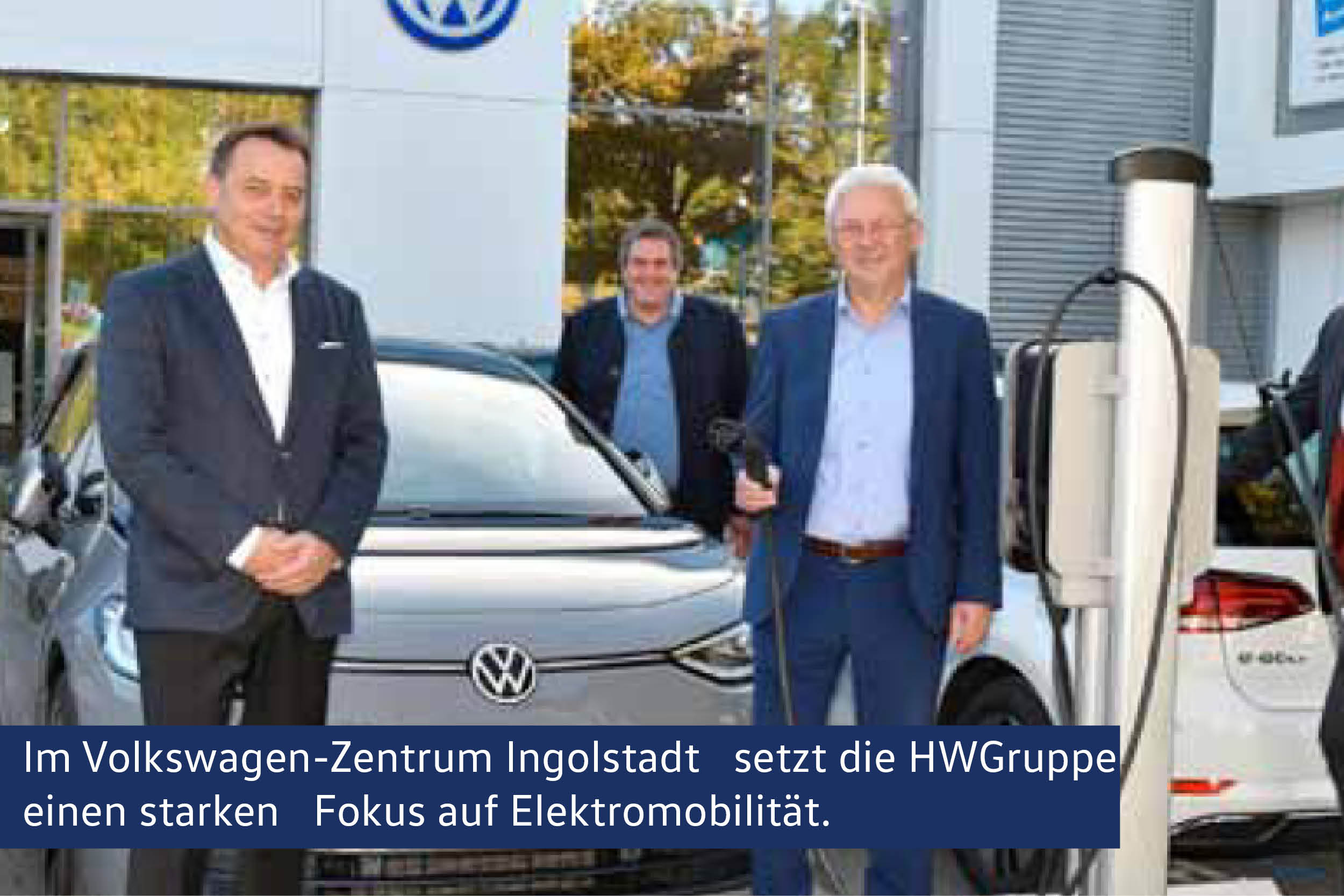 Die HWGruppe setzt einen starten Fokus auf Elektromobilität.